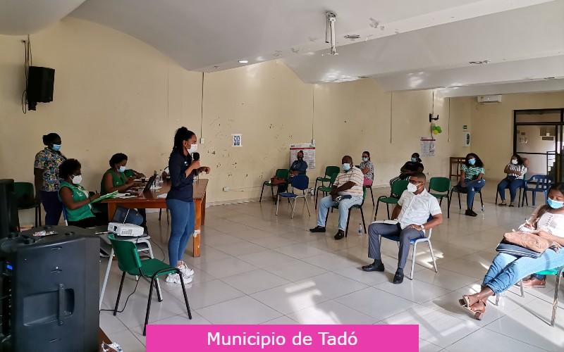 Secretaría de Salud Departamental, realizó mesa técnica en los municipios de Tadó, Istmina y Medio San Juan.