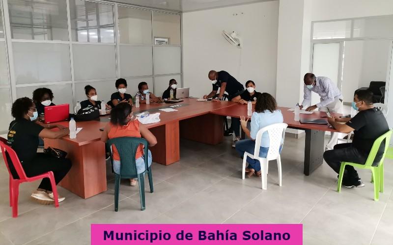 Secretaria de Salud departamental, realizó Mesa de coordinación territorial en los municipios de; Bahía Solano y Juradó.