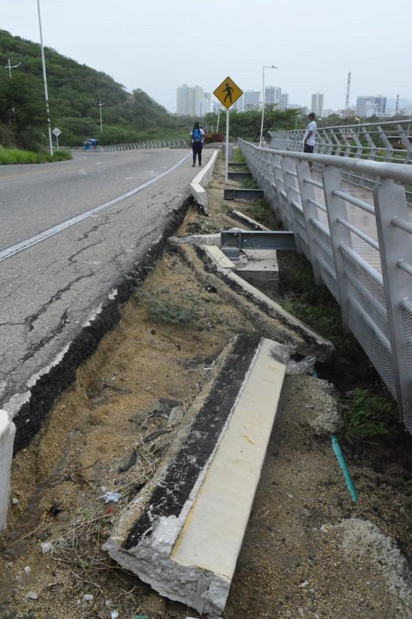 Sendero peatonal del Ziruma: entre el deterioro y el abandono de las autoridades