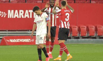 Sevilla perdió con Athletic y se despide del título de España