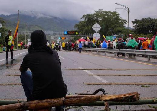 Tranquilidad durante primera marcha campesina en Villavicencio