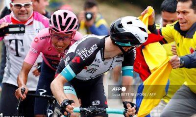 Yates advierte a Egan antes de la etapa reina del Giro de Italia