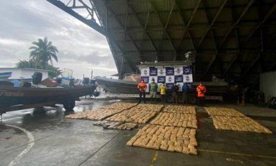 Capturados nicaragüenses que transportaban cerca de una tonelada de marihuana
