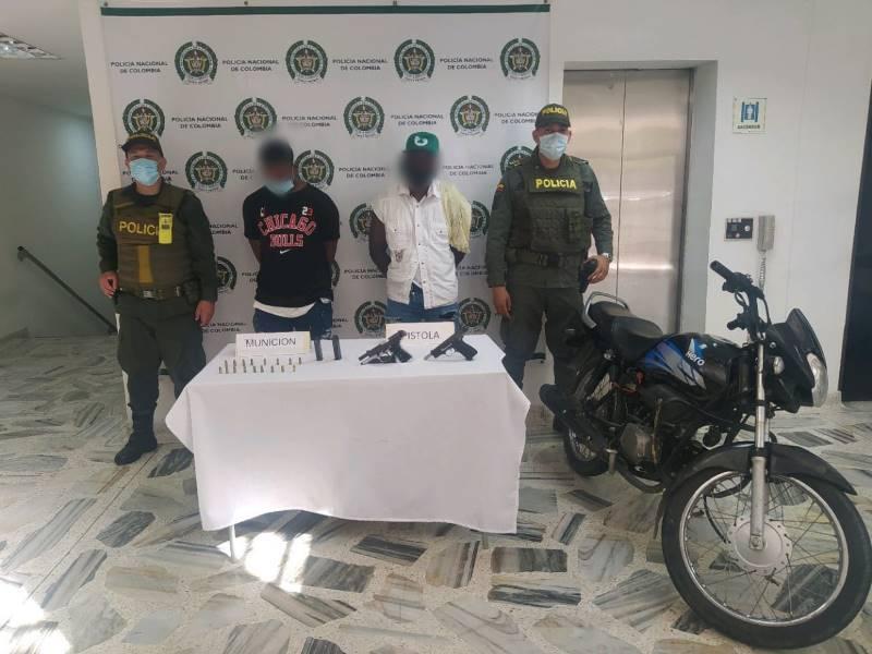 5 personas capturadas en Buenaventura este fin de semana