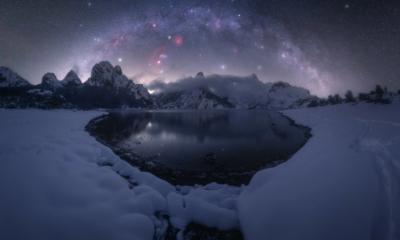 La Vía Láctea desde Riaño