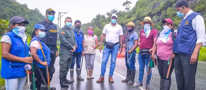 Gobernación busca canales de diálogo con indígenas para abrir corredor humanitario en la vía a Buenaventura