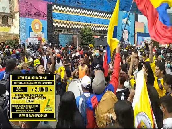 'Por la vida, la paz y la Democracia' Pasto nuevamente saldrá a las calles durante este 2J
