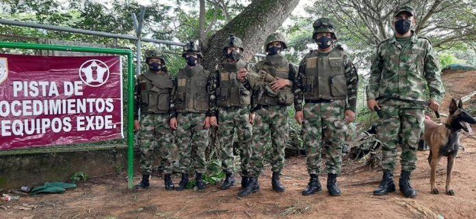 36 hombres reforzarán los equipos de Explosivos y Demoliciones en Arauca
