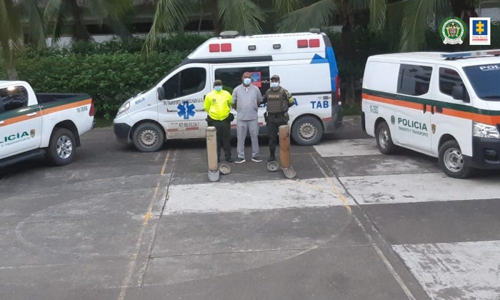 A la cárcel conductor de una ambulancia investigado por presuntamente transportar en el vehículo más de 40 kilos de cocaína
