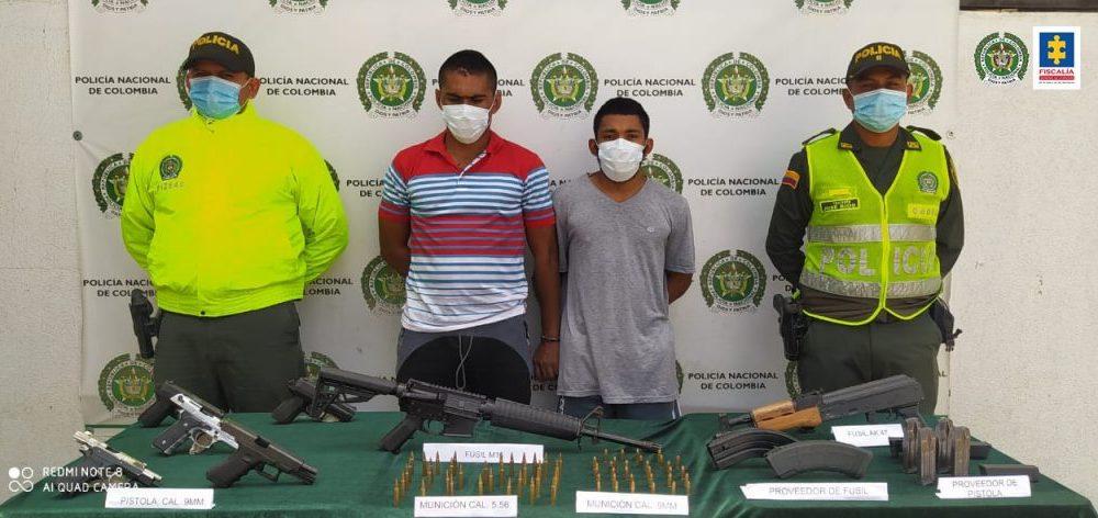 A la cárcel los presuntos responsables del homicidio de un Policía en Santa Marta