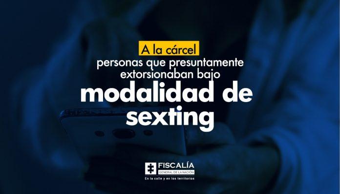 A la cárcel personas que presuntamente extorsionaban bajo modalidad de sexting