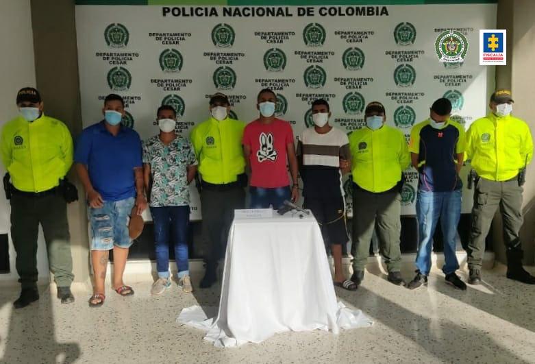 A la cárcel seis presuntos integrantes de la banda el Boro Nevadero
