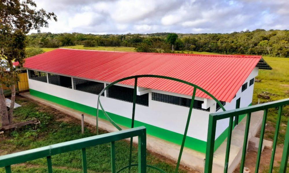 ACATISEMA construyó nuevo dormitorio en colegio de la Selva de Matavén