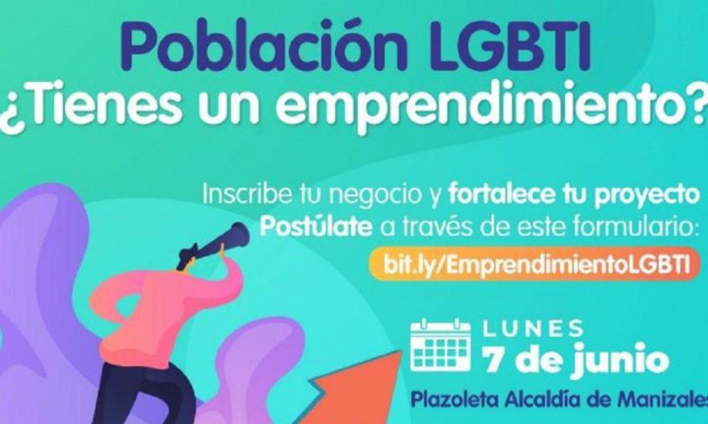 Abren en Manizales convocatoria para emprendedores de población LGTBI