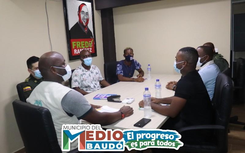 Alcaldía del Medio Baudó realiza primer comité de seguimiento electoral, con motivo de las elecciones donde se elegirán los Consejos de Juventud en todo el país.