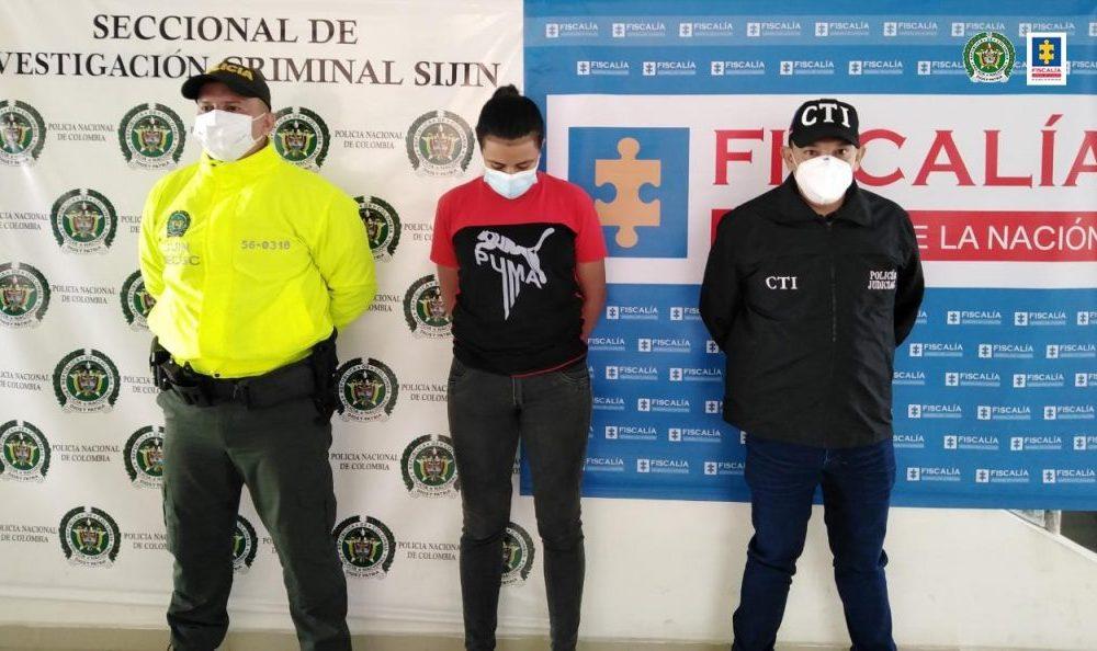 Asegurada mujer presunta responsable del homicidio de un pensionado del Ejército Nacional en Cúcuta (Norte de Santander)