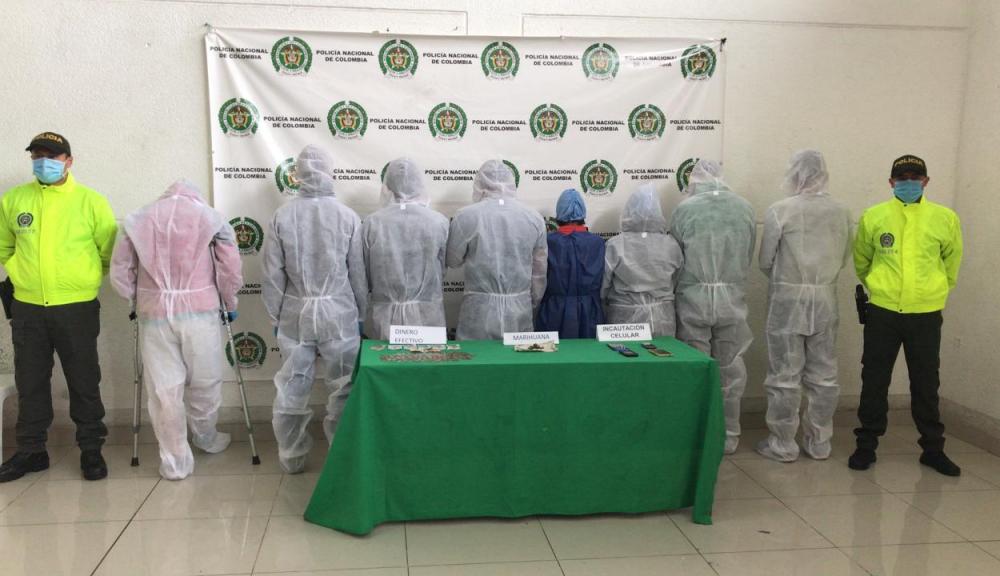 Aseguradas nueve personas por microtráfico en Neira (Caldas)