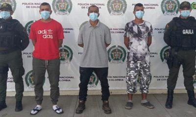 Asegurados presuntos integrantes de Los Gaitanistas