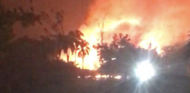 Autoridades reportan gran incendio en Panacá