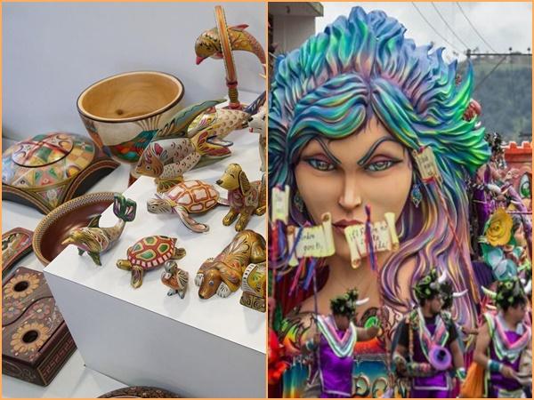 Barniz de Pasto y Carnaval de Negros y Blancos, los dos proyectos patrimoniales que serán potenciados por el Mincomercio