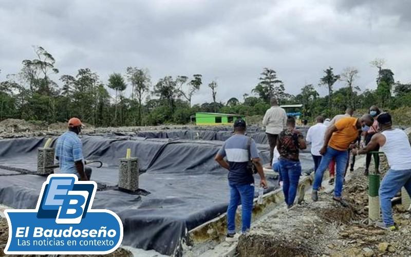 Cabecera municipal de Sipí ya cuenta con relleno sanitario.