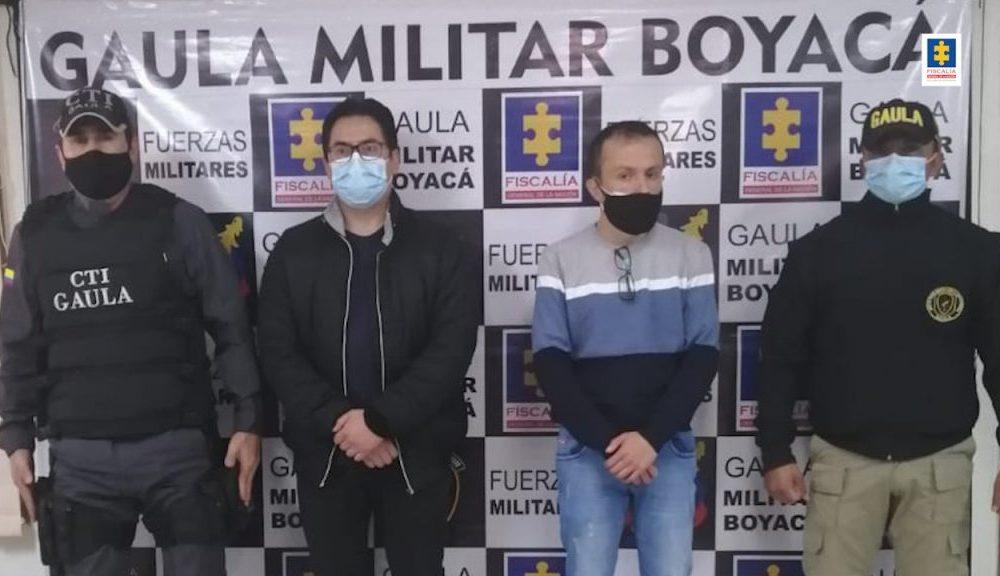 Capturados dos hombres para cumplir sentencias por extorsión