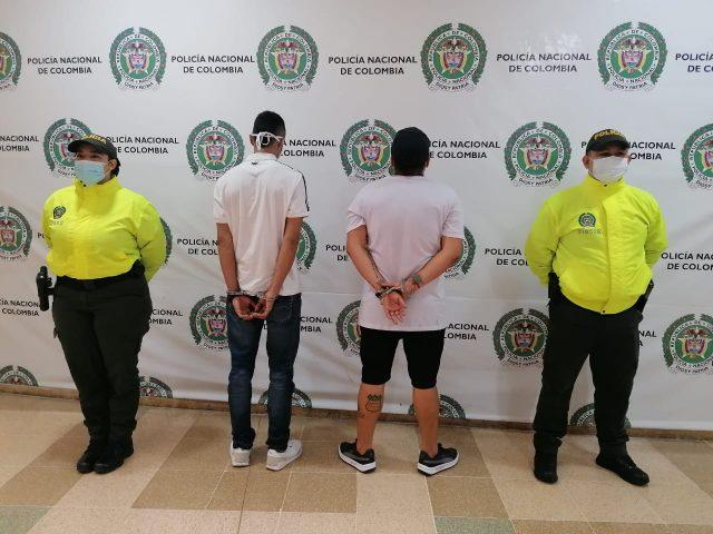 Capturados por delito de tentativa de homicidio a patrullero de policía
