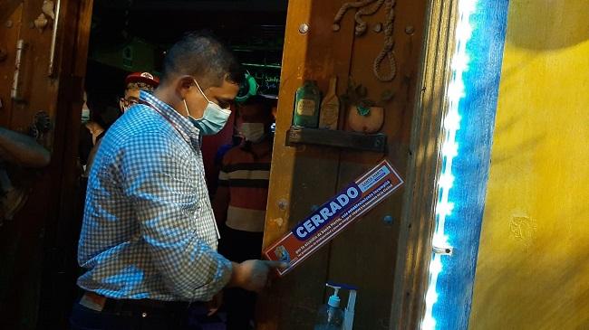 Cierran dos establecimientos en Santa Marta por incumplir protocolos de bioseguridad