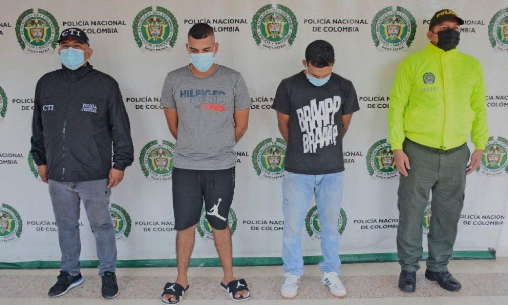 Como presuntos responsables de hurto fueron aseguradas cuatro personas en Huila