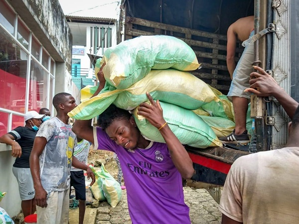 Con apoyo de Cooperación Internacional llegaron ayudas para atender crisis humanitaria en Nariño