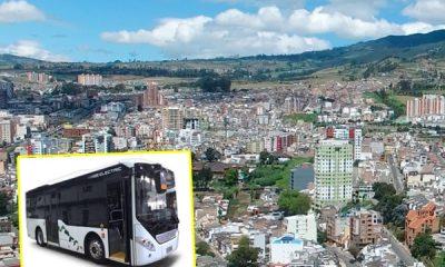 transporte público. en Pasto