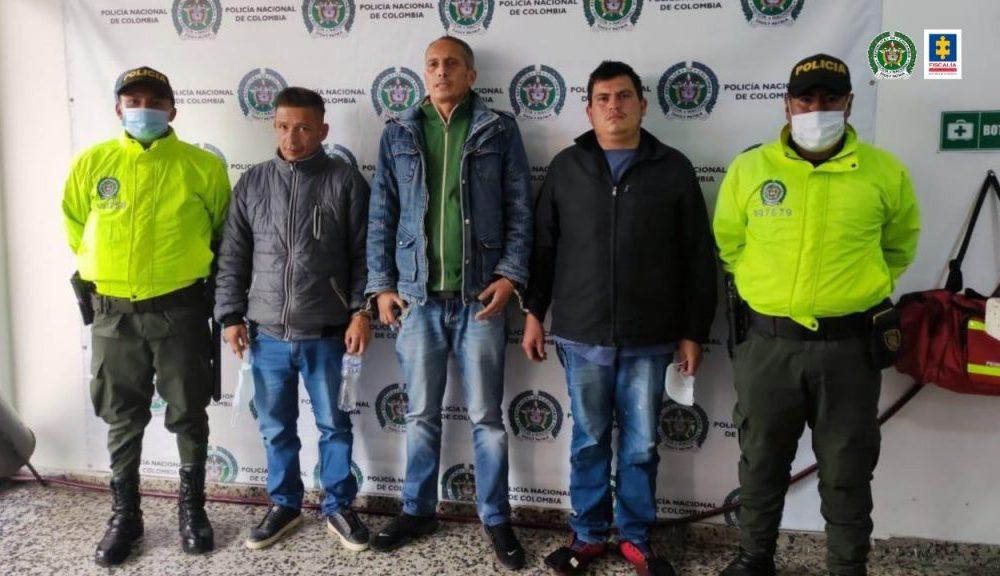 Desarticulado el grupo delincuencial Los Chacales, dedicado al hurto de establecimientos comerciales en cuatro localidades de Bogotá