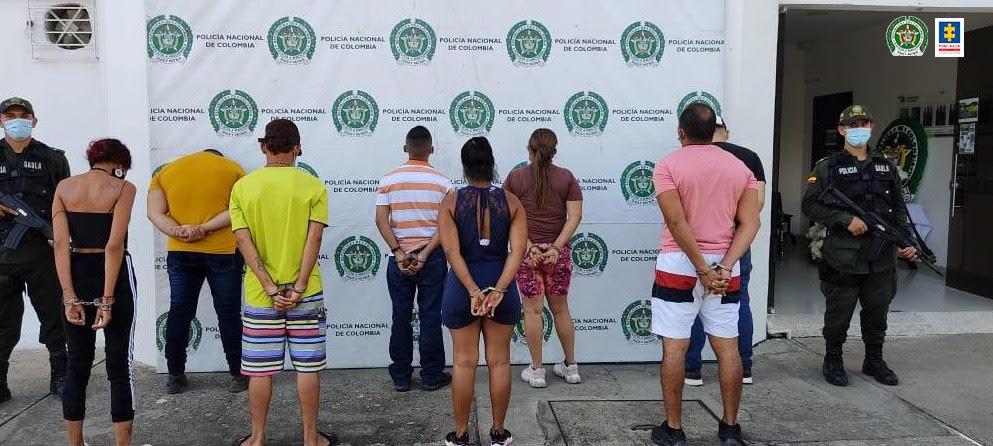 Desarticulado grupo delincuencial Los Carreteros, dedicados a la extorsión de comerciantes y otros delitos