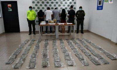 Desarticulados Los Maleteros, presuntamente, dedicados al tráfico de estupefacientes en Meta