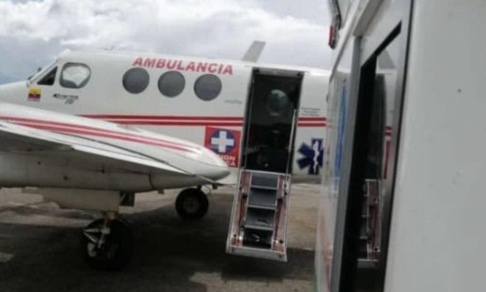 Desde Boyacá trasladan a primer paciente con COVID a UCI de Barranquilla