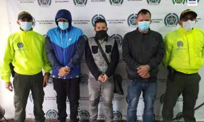Detención intramuros para seis hombres que pertenecerían a una organización delincuencial y habrían participado en un crimen en Marmato (Caldas)