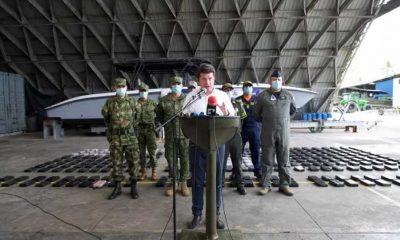 MinDefensa anunció en Buenaventura que seguirán patrullajes para evitar bloqueos en vías del Valle