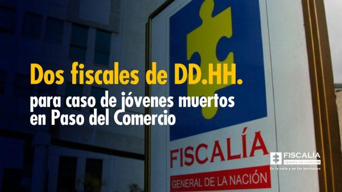 Dos fiscales de DD.HH. para caso de jóvenes muertos en Paso del Comercio