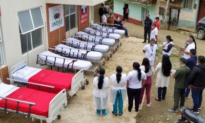 ESE Cxayu'ce Jxut recibió camas hospitalarias y camillas