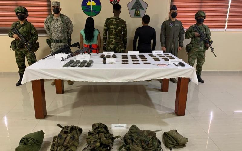 Ejército Nacional asesta contundentes golpes en contra de los grupos armados organizados en el Chocó.