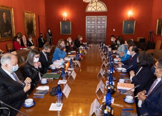 Reunión del Gobierno con delegados de la Cidh