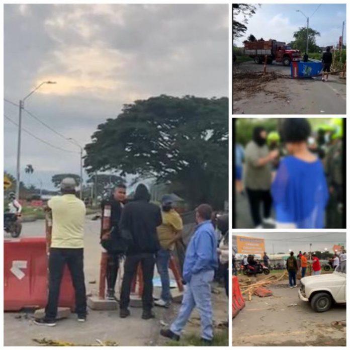 """En Candelaria aumenta la tensión por bloqueos: la gente desbloqueó """"pero los amenazaron"""""""