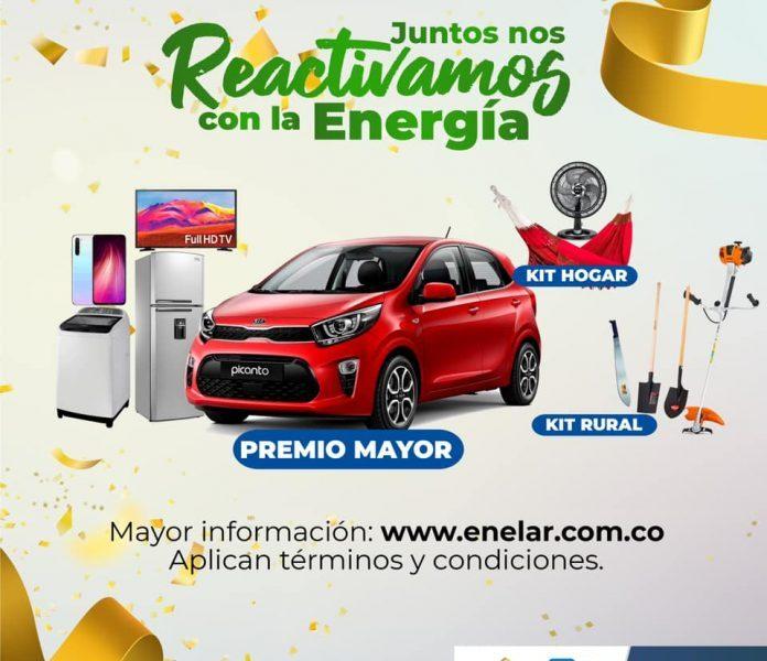 En Tame, Arauquita y Puerto Rondón se quedaron los 6 premios que sorteó el programa Juntos Nos Reactivamos con la Energía el viernes 11 de junio.