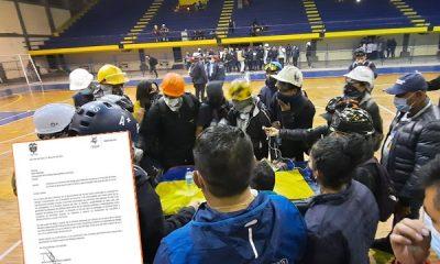 En la reunión con jóvenes manifestantes de Pasto este domingo esperan al gobernador, alcalde y policía