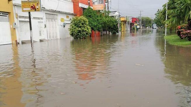 Este jueves se registraron inundaciones en La Dorada