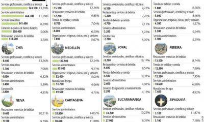 Estos son los sectores que más generan empleo en Villavicencio