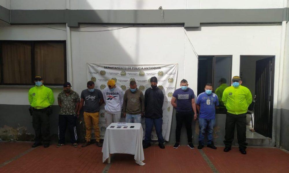 Fiscalía impactó red logística del 'Clan del Golfo' que delinque en el Bajo Cauca Antioqueño