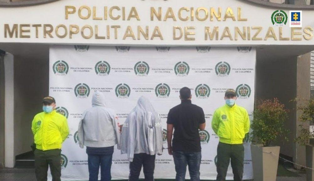 Fiscalía judicializó a dos hombres que habrían ingresado a una residencia en el barrio La Argentina de Manizales para perpetrar un hurto