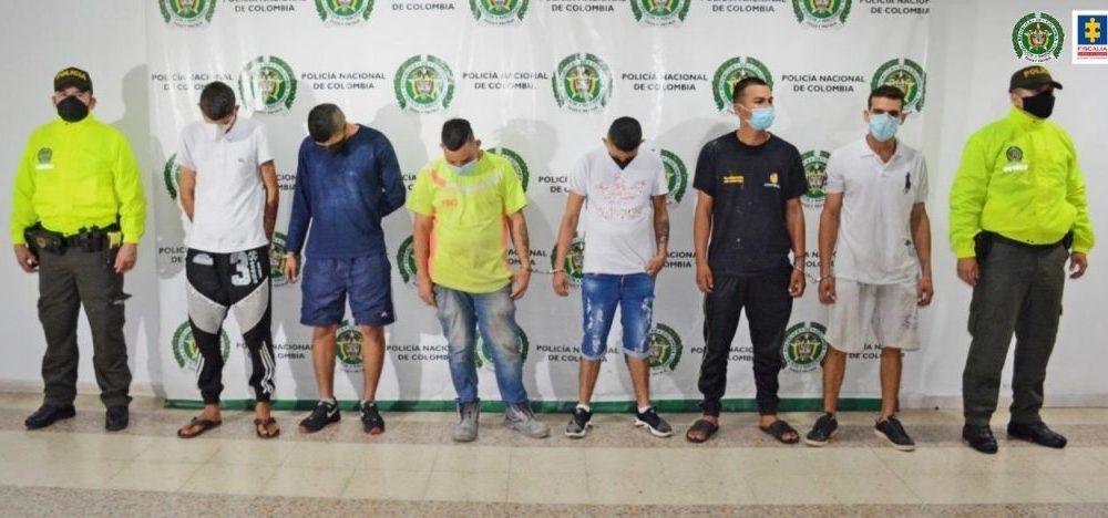 Fueron judicializados Los Escobitas, supuestos, responsables de hurtos en la Comuna 9 de Neiva