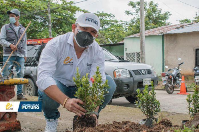 Fundación Contribución Ecológica Ambiental y ENELAR ESP conmemoraron el Día Mundial del Medio Ambiente recuperando el parque de Mata de Venado del municipio de Arauca.